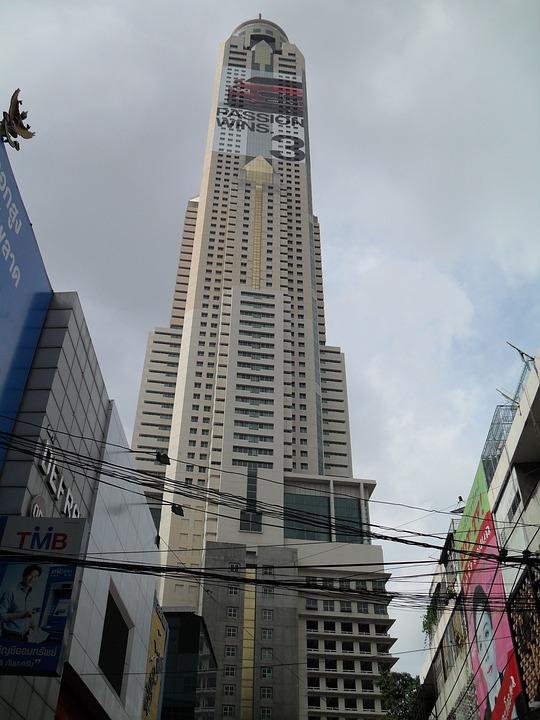 Bangkok, Thailand, Asia, Skyscraper, Building