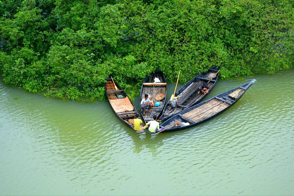 Natural, View, Bangladesh