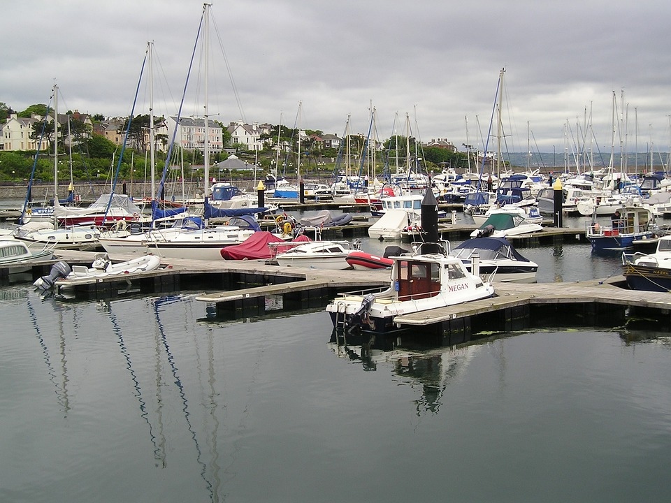 Boats, Yachts, Harbor, Harbour, Marina, Bangor, Ireland