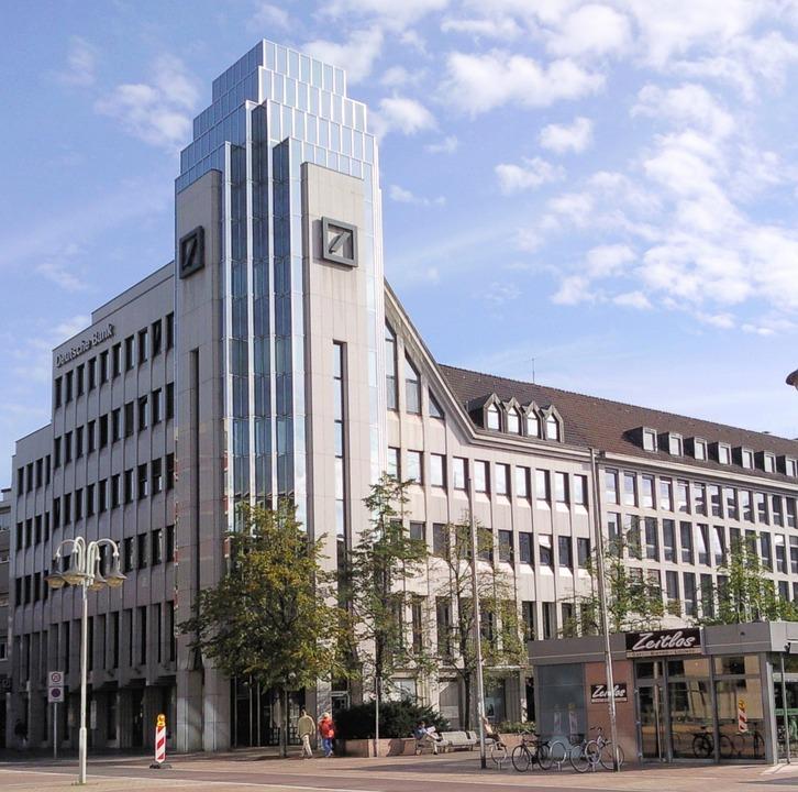 Building, Bank, Architecture, Deutsche Bank, German