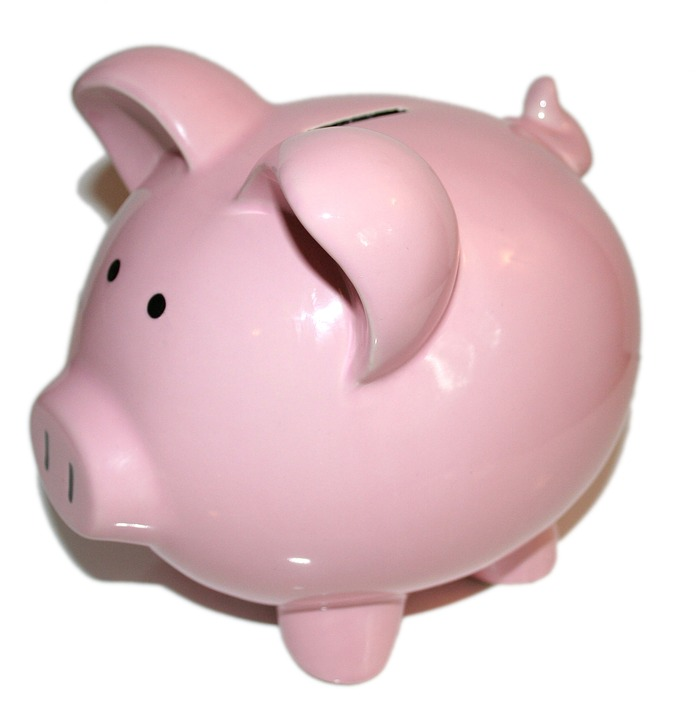 Piggy Bank, Bank, Money, Finance, Currency, Savings