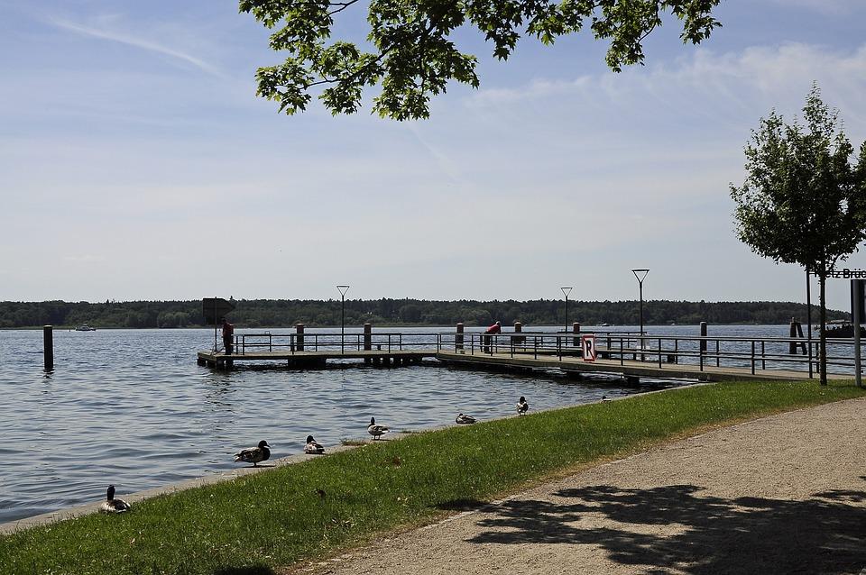 Water, Lake, Summer, Landscape, Bank