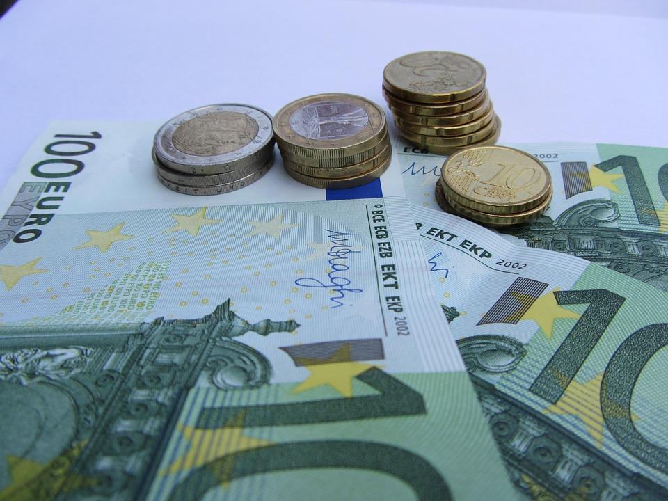 Money, Save, Bills, Euro, Coins, Bank Note, Debt
