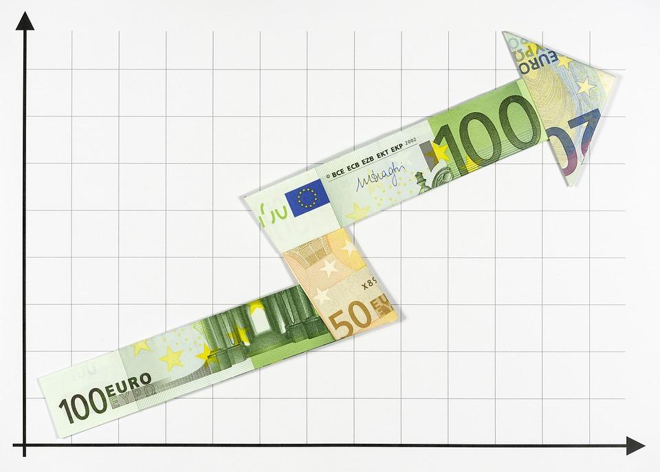 Arrow, Money, Bank Note, Bills, Currency, Euro