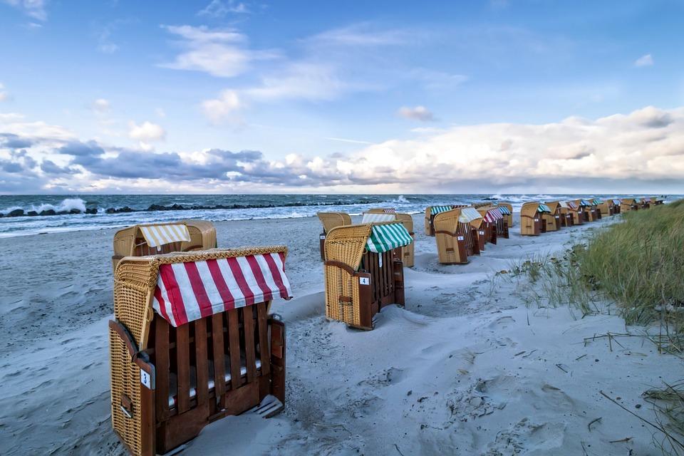 Waters, Sea, Travel, Coast, Beach, Bank, Chair, Holiday