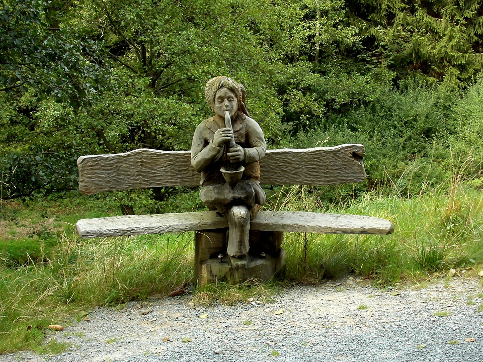 Bank, Wood, Bench, Wooden Bench, Seat, Rest, Nature