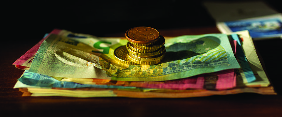 Money, Euro, Banknote, Yellow, Orange, Gold, Investment