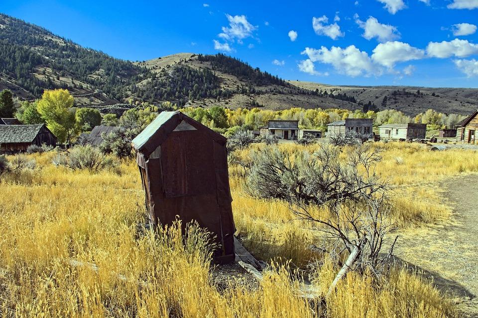 Ghost Town Of Bannack, Bannack State Park, Bannack