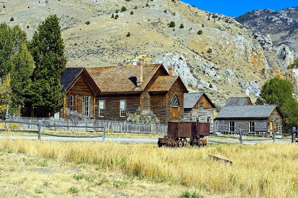Bannack Church And Other Buildings, Montana, Bannack