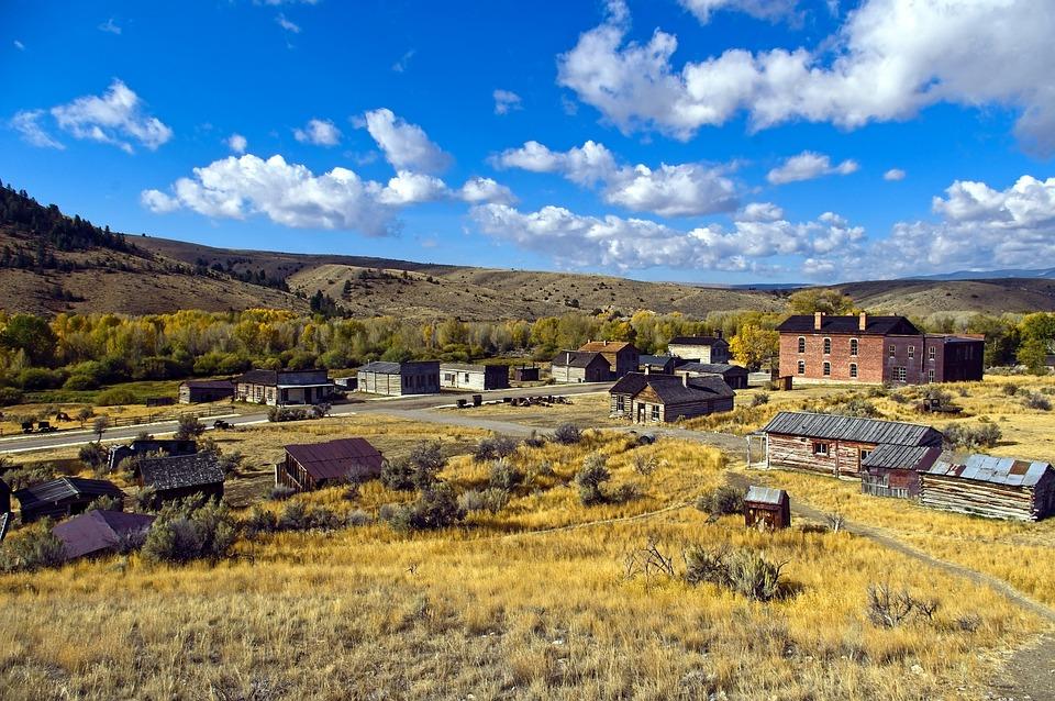 Bannack Townsite, Bannack State Park, Bannack, Montana