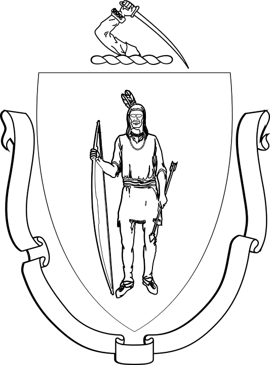 Coat Of Arms, Banner, Indian, Bow, Arrow, Traditional