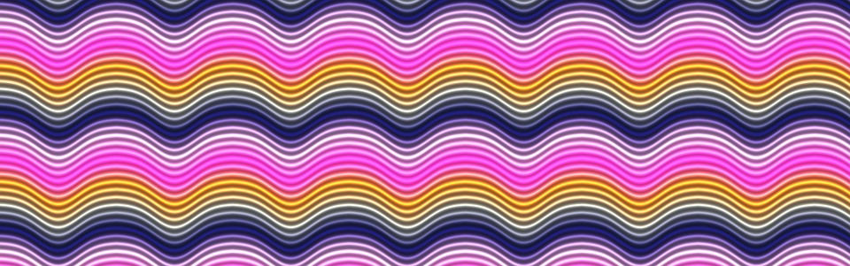 Banner, Background, Waves, Curves, Colour