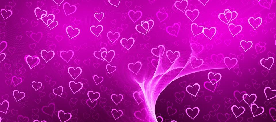 Heart, Banner, Header, Welcome, Light, Course, Love