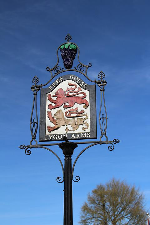 Travel, Old, Pub Sign, Banner