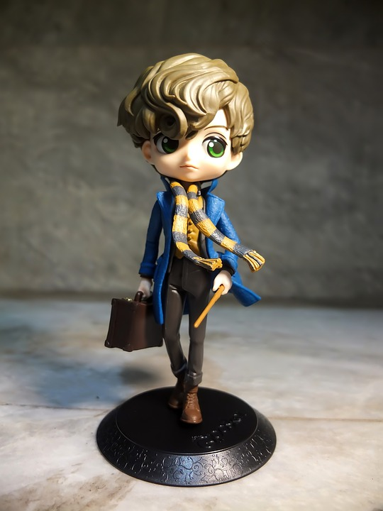 Newt, Scamander, Young, Man, Male, Qposket, Banpresto