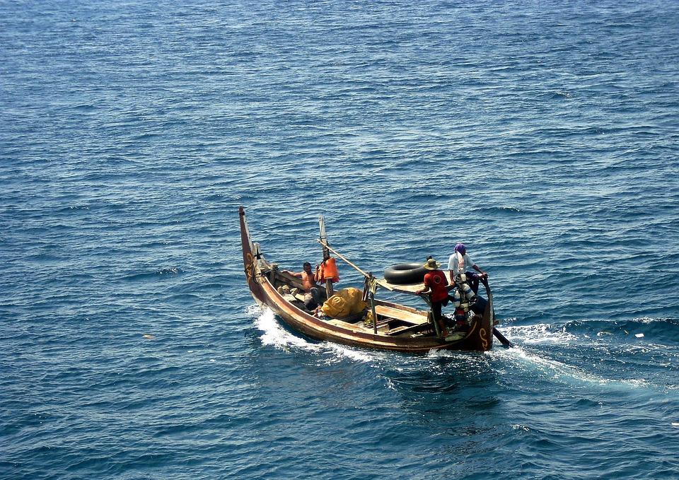 Perahu, Laut, Banyuwangi, Jawa Timur, Indonesia, Asian