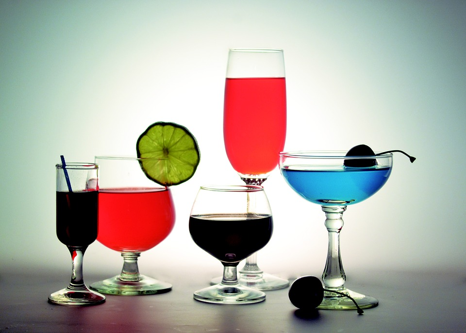 Cocktail, Alcohol, Glasses, Cups, Drinks, Drink, Bar