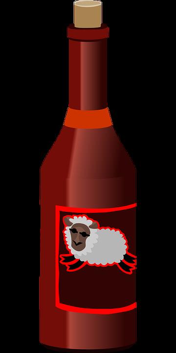 Bottle, Drink, Sheep, Beverage, Alcohol, Liquid, Bar