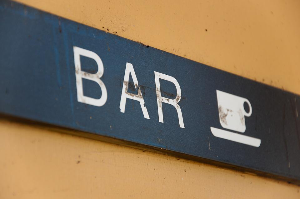 Bar, Teaches, Vintage, Old, Italy, Coffee, Written
