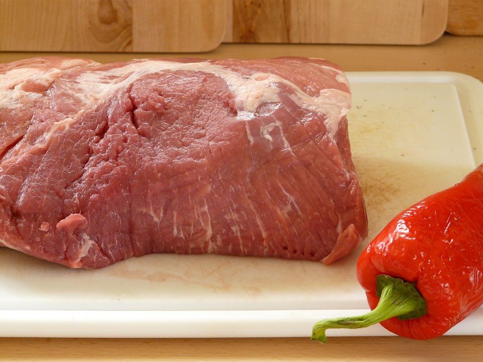 Fry, Pork Neck, Steak, Meat, Barbecue, Cook, Eat, Food