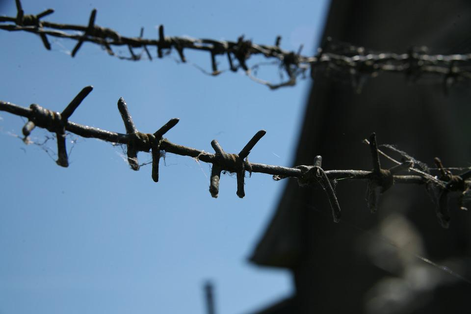 Barbed Wire, City, Closing, Danger