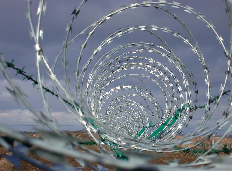 Free photo Barbed Wire Wire Security Border - Max Pixel