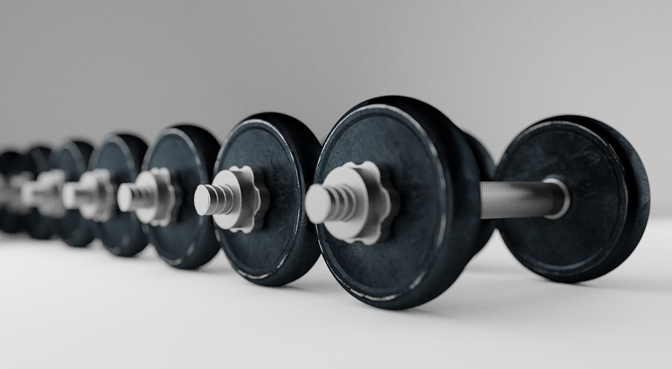 Dumbell, Barbell, Bodybuilding, Equipment, Fitness