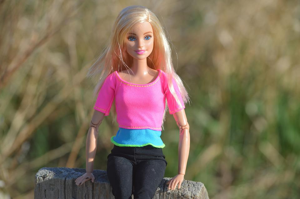 Barbie, Doll, Posing, Blonde, Toy, Female, Model, Girl