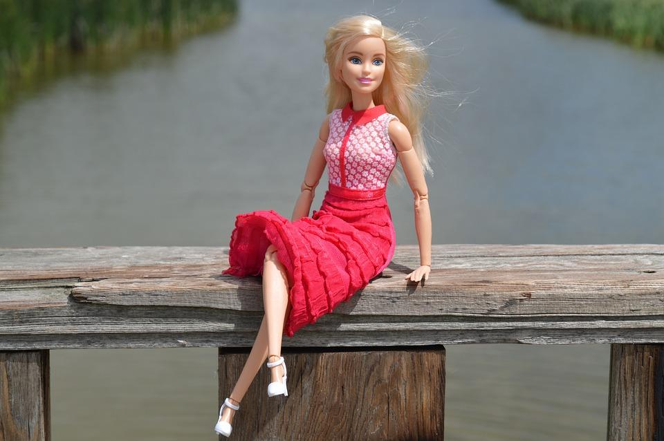 Doll, Barbie, Blonde, Posing, Model, Girl, Glamour