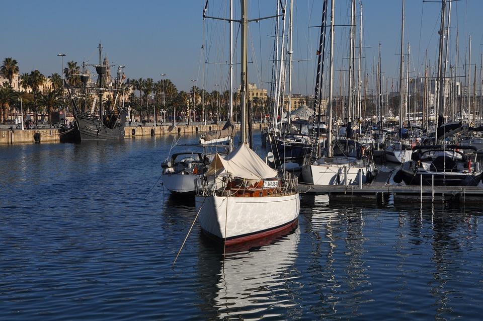 Barcelona, Sea, Boat