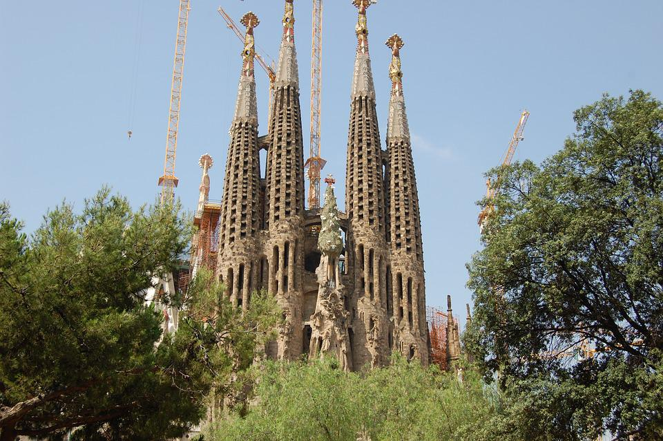 Sagrada Familia, Barcelona, Catalonia