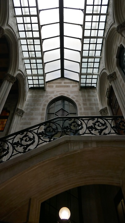 Courtyard, Barcelona, Architecture