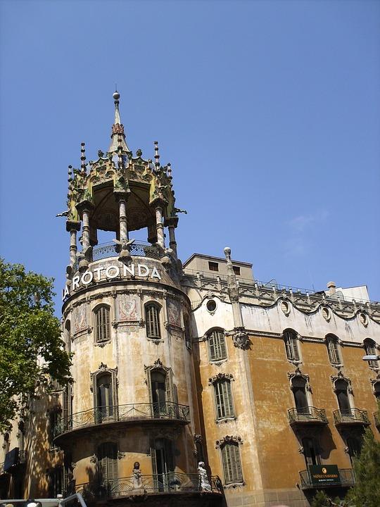 La Rotonda, Spain, Barcelona, La Torre Andreu, Building