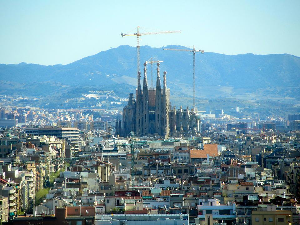 Barcelona, Church, Spain, Places Of Interest, Cathedral