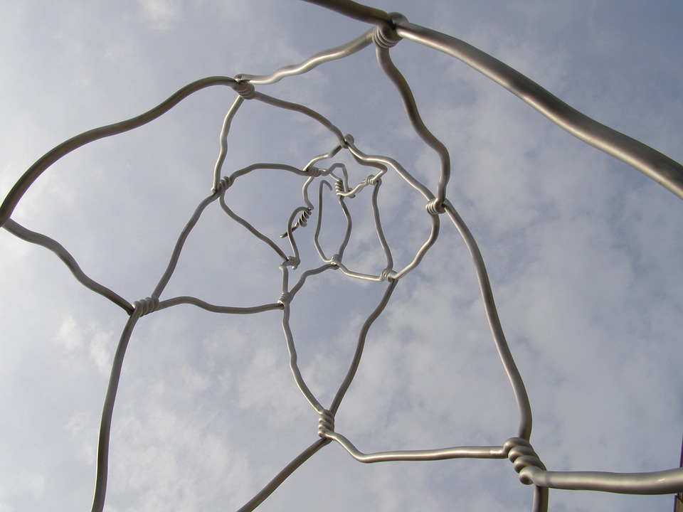 Sculpture, Wire Sculpture, Artwork, Barcelona