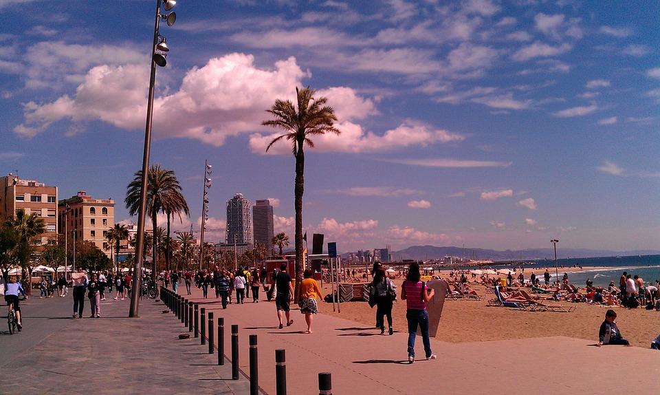 Barcelona, Barceloneta, Beach