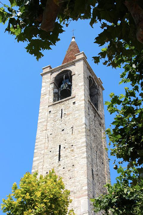 Bardolino, Bell Tower, Bells, Tower