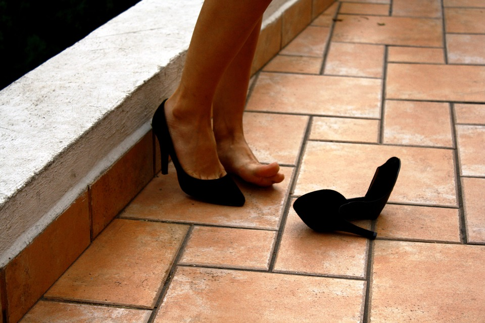 Foot, Heel, Barefoot, Floor