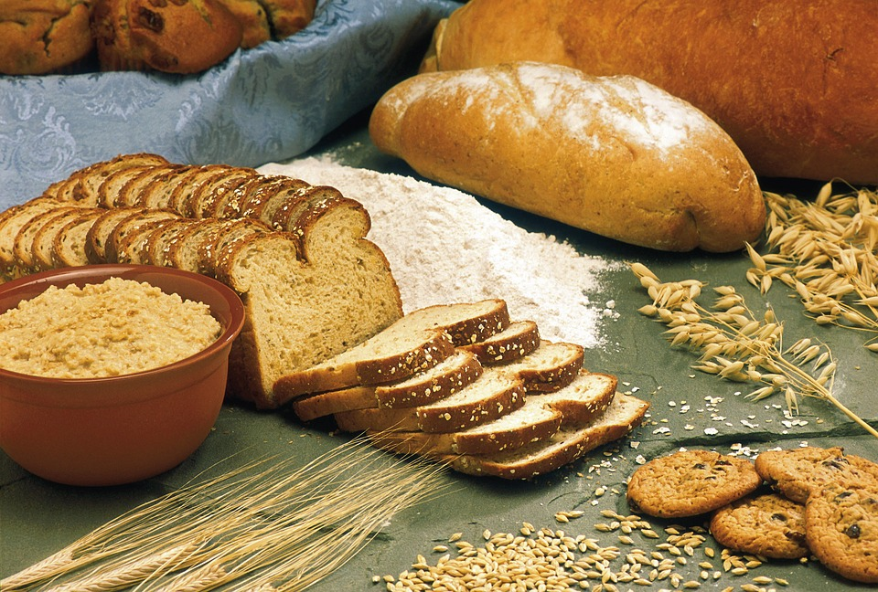 Breads, Cereals, Oats, Barley, Wheat, Flour