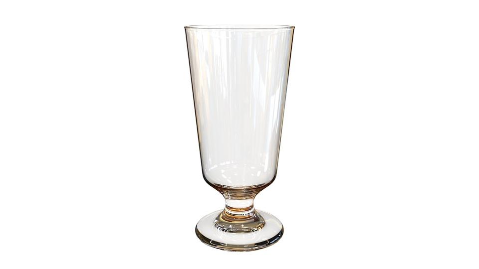 Glass With Foot, Vacuum, Barman, Bar, Shine