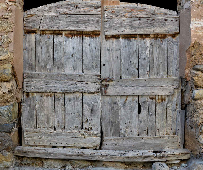 Old Door, Barn, Old Wood