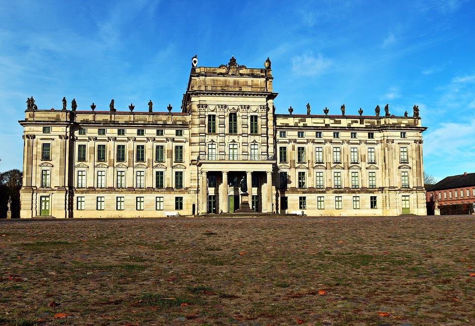 Castle, Ludwigslust-parchim, Barockschloss, Castle Park