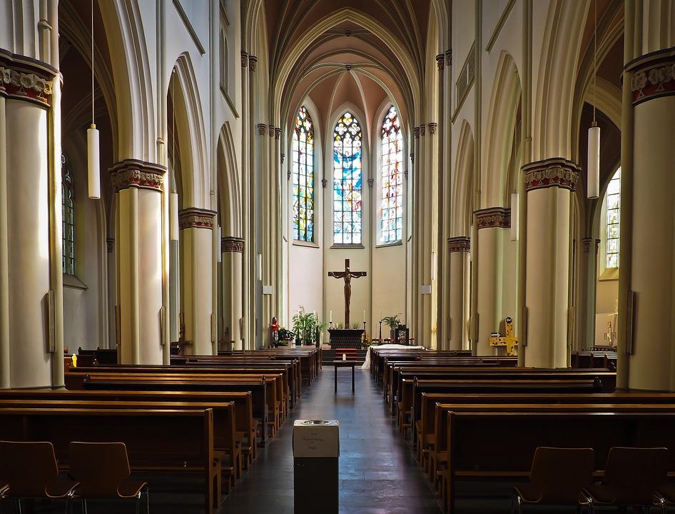 Church, Altar, Architecture, Christian, Baroque