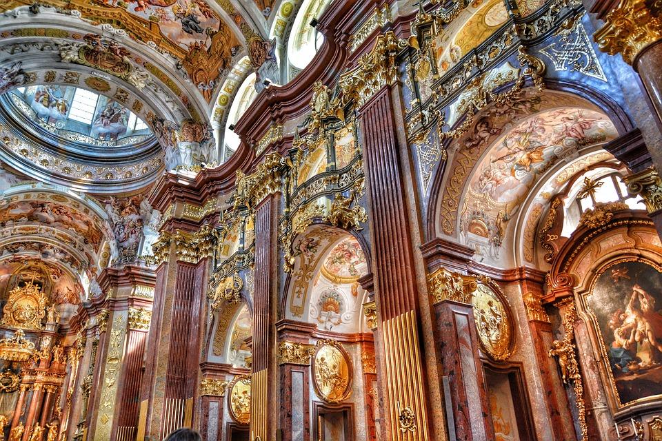Baroque Church, Church, Collegiate Church, Baroque, Old