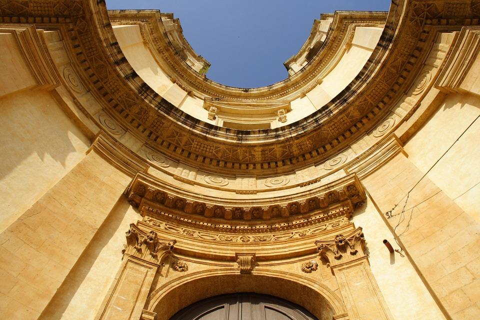 Chiesa Di Montevergine, Church, Noto, Sicily, Baroque