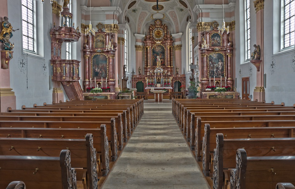 Church, Baroque, Hdr, Baroque Church, Baroque Style