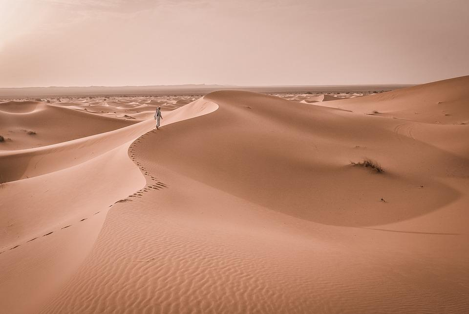 Barren, Desert, Dune, Hot, Landscape, Nature, Sand