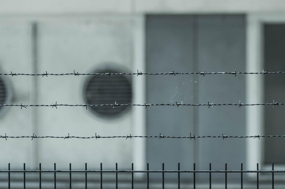 Prison, Fence, Barrier