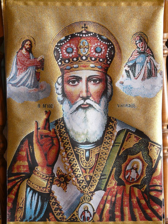 Image, Icon, Man, Bart, Crown, Holy, Golden, Shiny