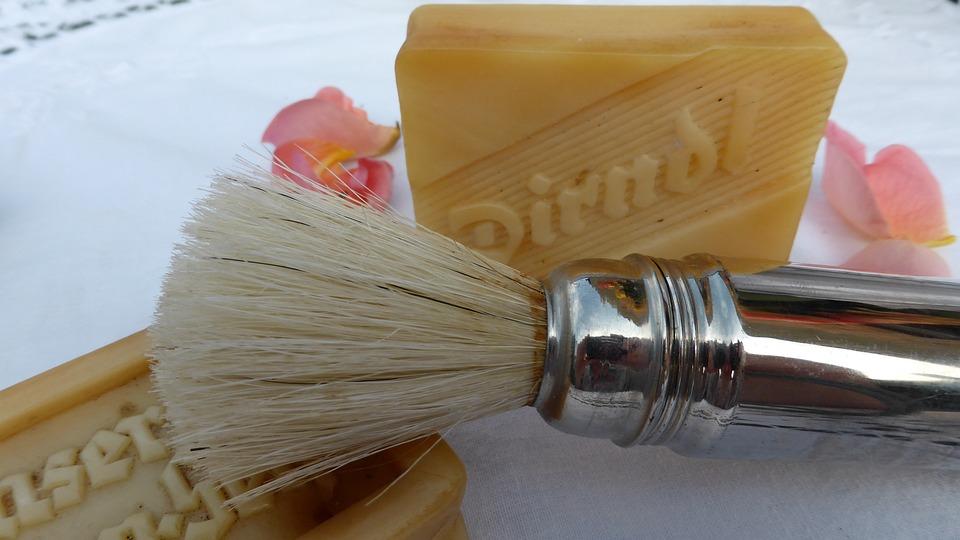 Shaving Brush, Cosmetics, Shaving, Shave, Bart